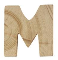 Rayher Holzbuchstabe für Buchstabenzug M