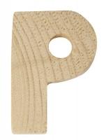Rayher Holzbuchstabe für Buchstabenzug P
