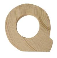 Rayher Holzbuchstabe für Buchstabenzug Q
