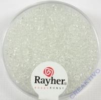Rocailles 2 mm ø transparent kristall