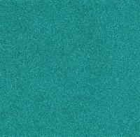 Scrapbooking Papier Glitter türkis