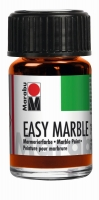 Easy marble Marmorierfarbe 15ml orange