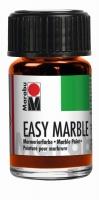 Easy marble Marmorierfarbe 15ml orange