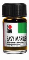 Easy marble Marmorierfarbe 15ml mittelgelb
