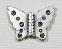 Pracht Metall-Anhänger Schmetterling 30mm