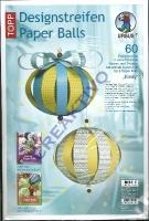 Designstreifen Paper Balls - Emily (Restbestand)