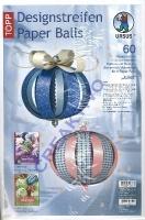 Designstreifen Paper Balls - Juliet (Restbestand)
