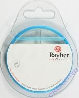 Rayher Organzaband 3mm 10m türkis