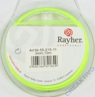 Rayher Organzaband 3mm 10m hellgrün