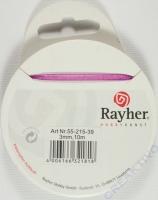 Rayher Organzaband 3mm 10m lila