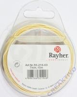 Rayher Organzaband 7mm 10m beige