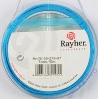 Rayher Organzaband 7mm 10m türkis