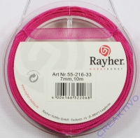 Rayher Organzaband 7mm 10m pink