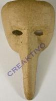 Pappmaché Maske Venecia 15x20cm