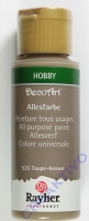 Rayher Allesfarbe 59ml taupe-brown