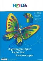 Regenbogen-Papier 10 Blatt 23x33cm 115g/qm