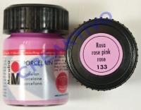 Marabu Porcelain Glas 15ml rosa