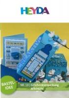 Heyda Bastelidee Nr. 18 - Geschenkverpackung Milchtüte (Download)