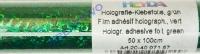 Heyda Holografie-Klebefolie 50x100cm grün