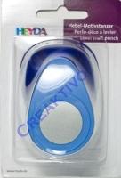 Hebel-Motivstanzer Kreis 22mm