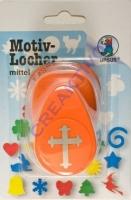Motivlocher mittel Kreuz