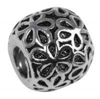Rockstars Metall-Perle altsilbe 11 mm Großloch 4 mm