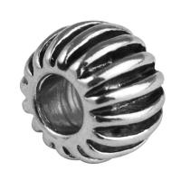 Rockstars Metall-Perle altsilber 10 mm Großloch