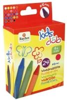 Kids Club Wachsmalstifte 10 cm 24 Farben