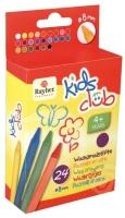 Kids Club Wachsmalstifte 9 cm 24 Farben