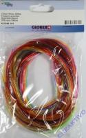 Scoubidou Glitter 100cm 20 Stück