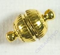 Pracht Magnetverschluss 7mm gold