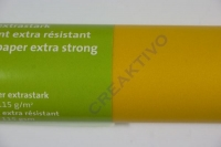 Transparentpapier extra stark Rolle 50x70cm sonnengelb