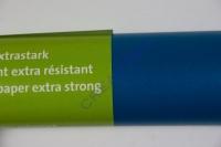 Transparentpapier extra stark Rolle 50x70cm wasserblau