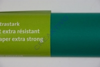 Transparentpapier extra stark Rolle 50x70cm grün