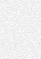 Bastelkarton Milano geprägt DIN A4 weiß