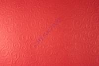 Bastelkarton Milano geprägt DIN A4 rubinrot