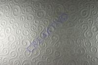Bastelkarton Milano geprägt DIN A4 silber