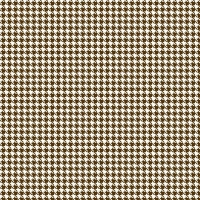 Serie Lush Brown - Brown Houndstooth (Restbestand)