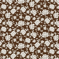 Serie Lush Brown - Brown Floral (Restbestand)