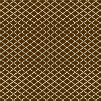 Serie Lush Brown - Brown Diamonds beflockt (Restbestand)
