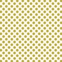 Serie Lush Green - Green Large Polka Dots beflockt (Auslaufartikel)
