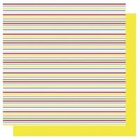 Scrapbooking Papier Streifen (Restbestand)