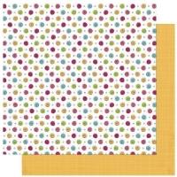 Rayher Scrapbooking-Papier Petal Pushers - Dot