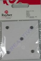 Rayher Magnete 6mm 20 Stück
