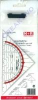 Geo-Dreieck mit Griff 14cm