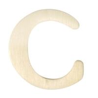 Holz-Buchstabe 4cm C