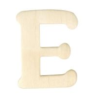 Holz-Buchstabe 4cm E