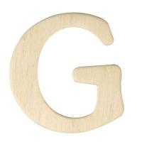 Holz-Buchstabe 4cm G