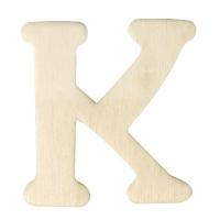 Holz-Buchstabe 4cm K