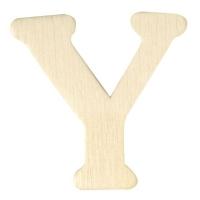 Holz-Buchstabe 4cm Y
